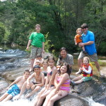 Everybody had fun at the swimming hole!